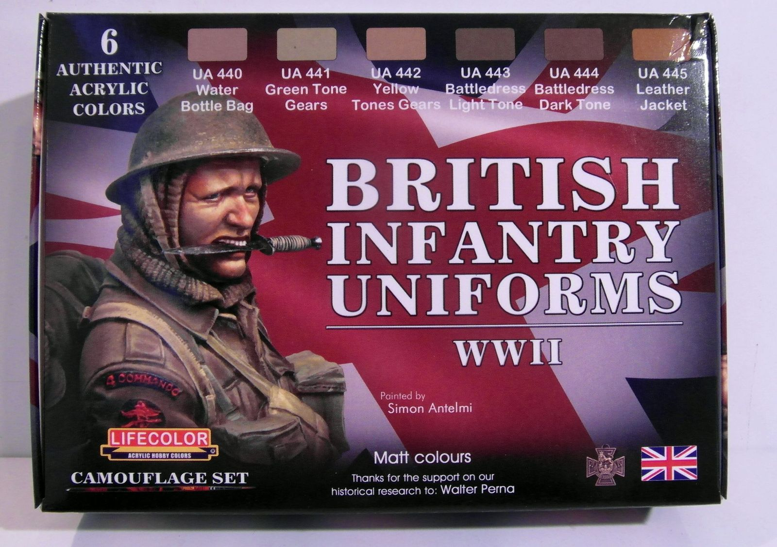 [Lifecolor] - British infantry uniforms WWII CS41-001