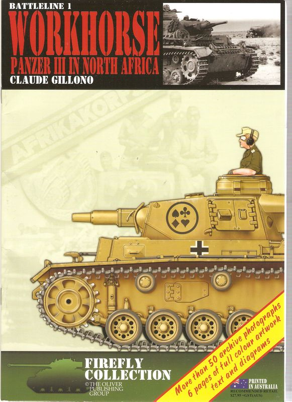 [Oliver Publishing Group] - Panzer III in North Africa Cover